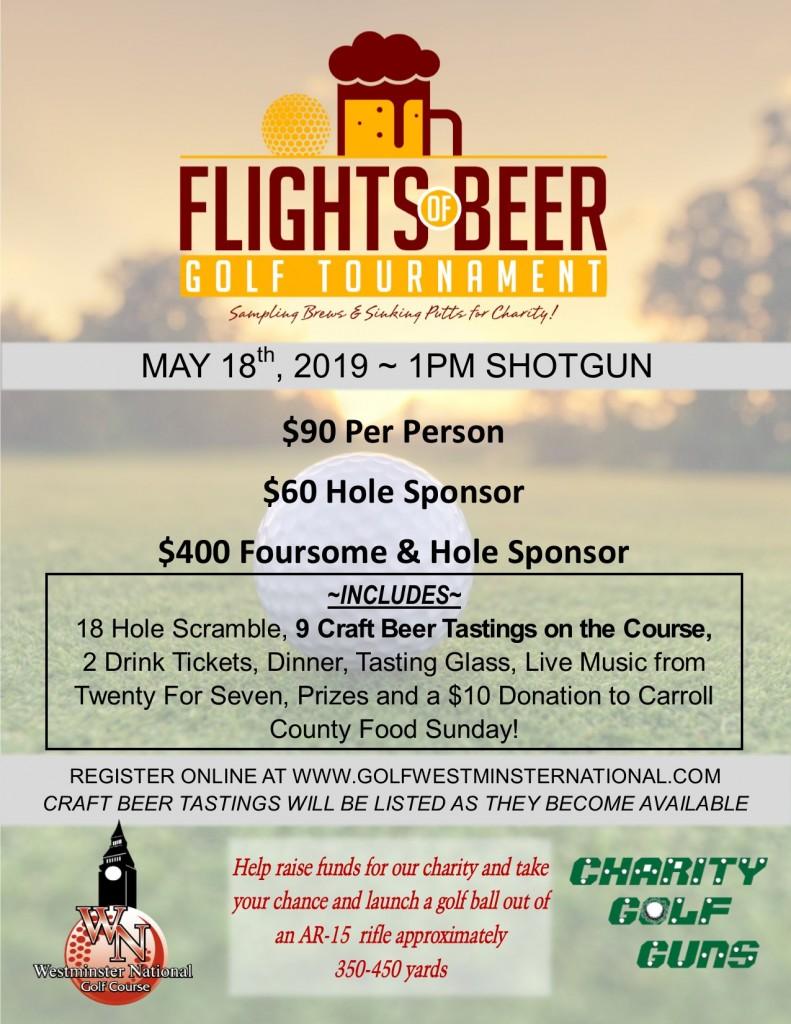 Flights of Beer Flyer 2019