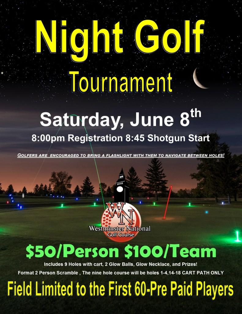 Night Golf Flyer June 2019